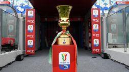 Coppa Italia 2021/22, svelato il tabellone