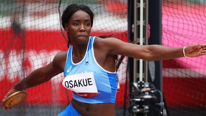 Lancio nel disco: Daisy Osakue in finale con record italiano