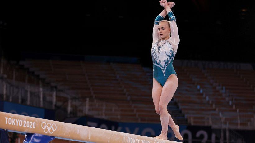 Olimpiadi, ginnastica: l'Italia sfiora il bronzo, la Biles si ritira
