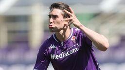 Fiorentina, Vlahovic scalda i motori: sette gol in amichevole