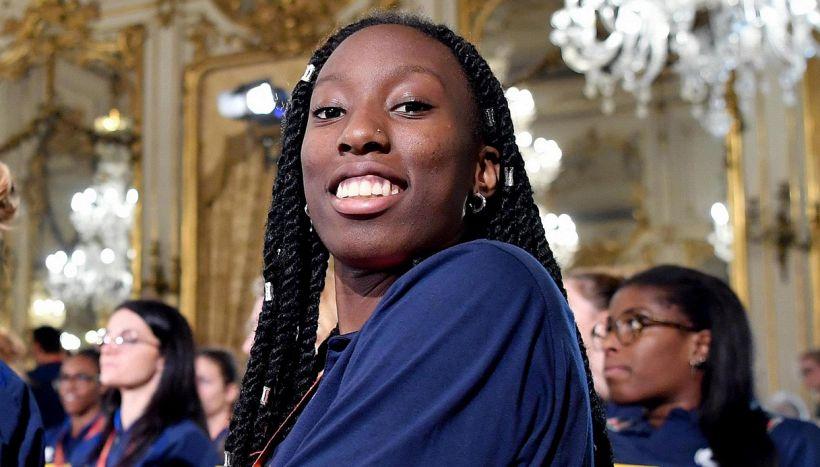 Emozione Egonu: portabandiera olimpica nella cerimonia di apertura