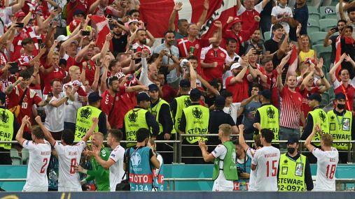 Euro 2020: Danimarca-Repubblica Ceca 2-1, le foto