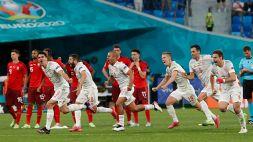 Euro 2020, la Spagna batte la Svizzera ai rigori: le foto