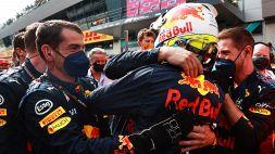 F1: le foto del trionfo di Verstappen in Austria