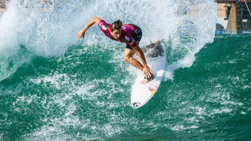 """Surf, Leonardo Fioravanti: """"Mi sento al 100%"""""""
