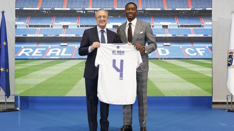 David Alaba si presenta al Real: giocherà con la maglia numero 4