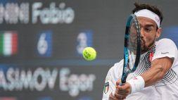 Tokyo 2020, tennis: Fognini agli ottavi