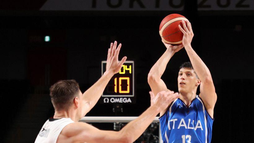 Tokyo 2020, esordio da urlo per l'Italbasket: Germania battuta