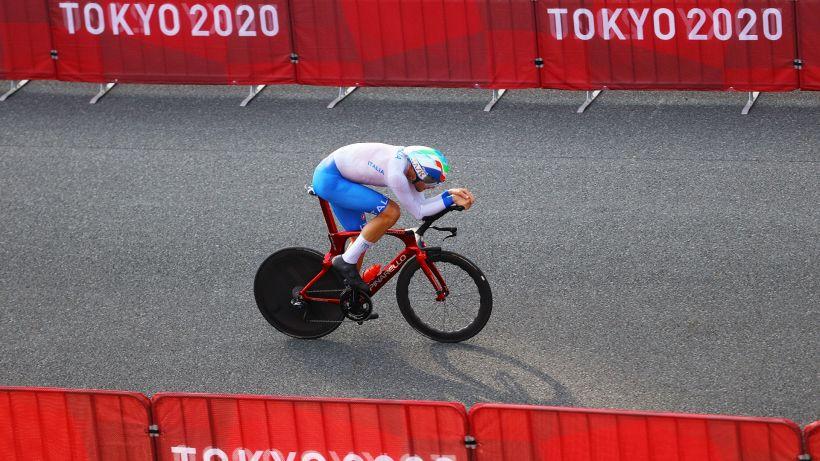 Tokyo 2020, crono ciclismo: oro per Roglic; Ganna quinto