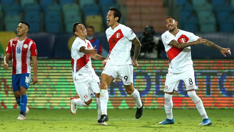 Copa America, Perú-Paraguay 7-6 dopo i rigori: Lapadula dà spettacolo