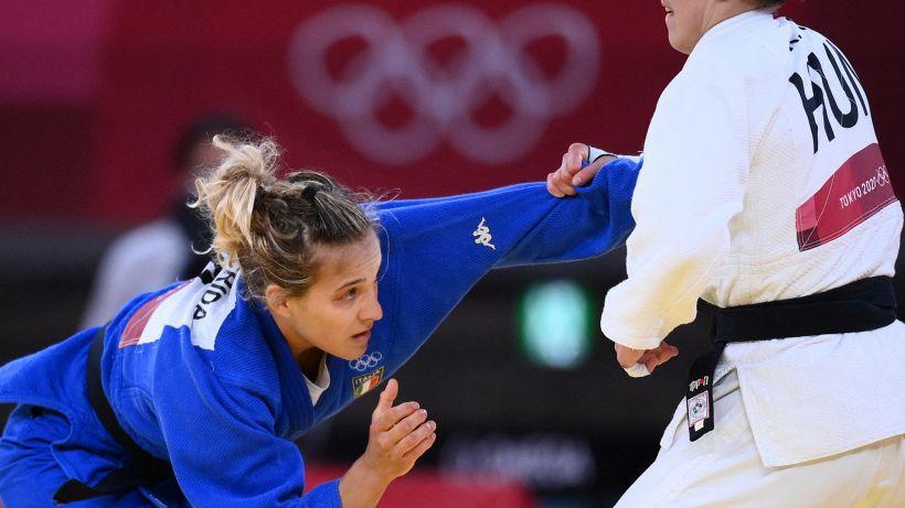 Tokyo 2020, storico bronzo nel judo per Odette Giuffrida