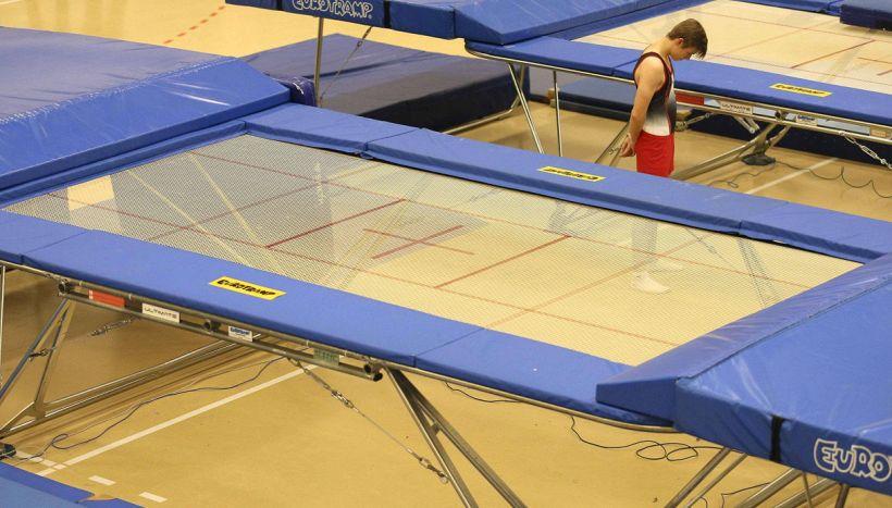 Ginnastica al trampolino