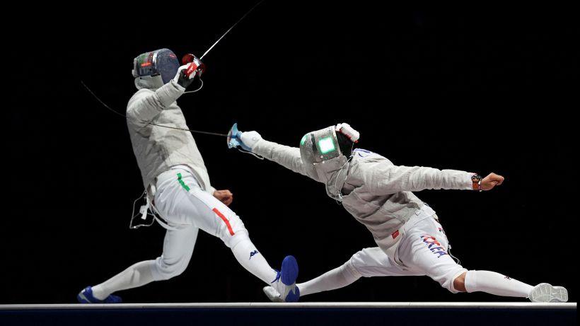 Tokyo 2020: Italia d'argento nella sciabola a squadre maschile