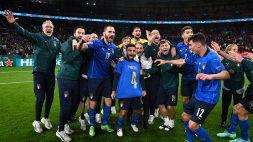Euro 2020, Italia: la gioia di Roberto Mancini