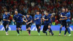 Euro 2020, Italia-Spagna: le foto