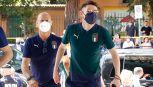 Italia, azzurri accolti da Figliuolo per richiamo vaccino anti Covid