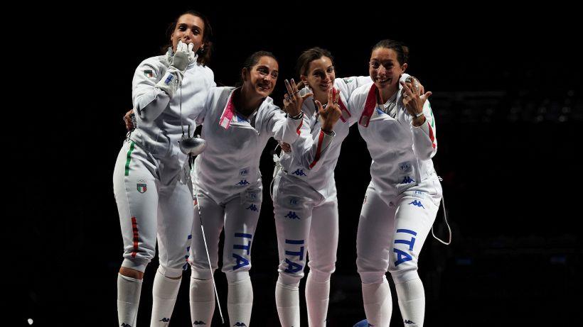 Tokyo 2020: l'Italia agguanta il bronzo nella spada femminile