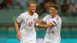 Euro 2020, la Danimarca è in semifinale! 2-1 alla Repubblica Ceca