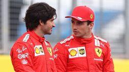 F1, chance Ferrari in Ungheria: le parole di Leclerc e Sainz