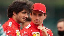 F1, Ferrari: Sainz a ruota libera tra futuro e rapporto con Leclerc