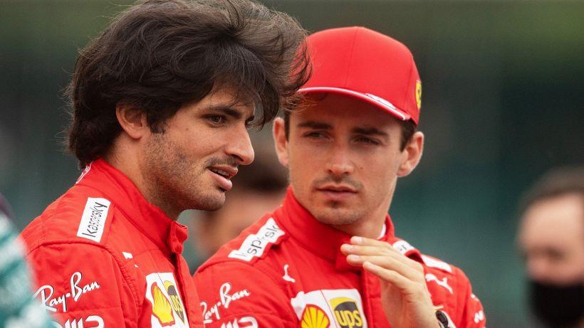 F1, Ferrari: Charles Leclerc sorride, rimpianti per Carlos Sainz