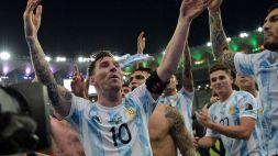 """Messi: """"Ringrazio Dio per questo momento"""""""