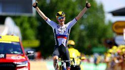 Tour de France: Matej Mohoric vince per distacco a Libourne