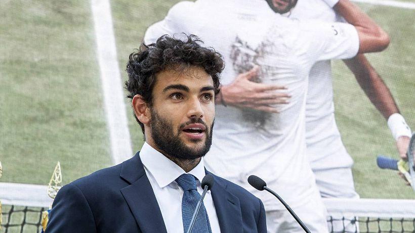 """Tennis, l'allenatore di Berrettini: """"Nessuno avrebbe puntato su lui"""""""