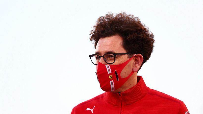 Ferrari, Binotto vede il bicchiere mezzo pieno
