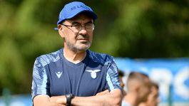 """Sarri-Lazio, è già scattata la scintilla: """"Mi sento a casa"""""""