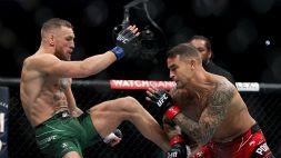 UFC: infortunio per McGregor, vince Poirier