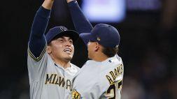 MLB: Astros al comando, volano i Brewers