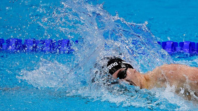 Tokyo, nuoto: record italiano nella staffetta 4x100 stile libero