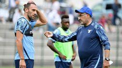 Lazio, attacchi a Muriqi: Sarri si scaglia contro dei tifosi