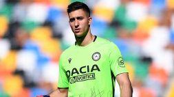 Musso è un giocatore dell'Atalanta: ufficiale l'arrivo dall'Udinese