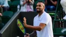 Kyrgios, a Wimbledon senza pressioni pianificando già il ritiro