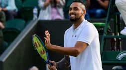 "Wimbledon, Kyrgios: ""Federer, Nadal e Djokovic sono semidei, ma..."""