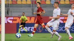 Zaniolo ritorna al gol: la Roma batte 5-2 il Debrecen
