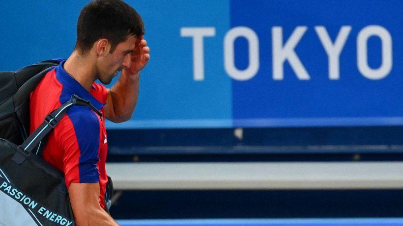 Tokyo 2020, delusione per Djokovic: sfuma anche il bronzo