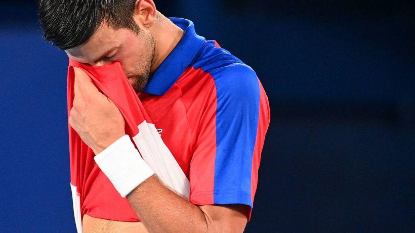 Tokyo 2020, clamoroso: Djokovic k.o in semifinale, sfuma l'oro