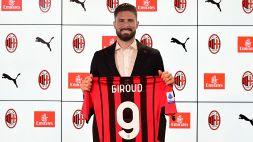 Milan, esordio col botto di Giroud: 4 minuti e primo goal