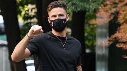 Ufficiale Giroud al Milan: fatte le visite e firmato il contratto