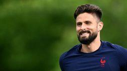 """Milan, Maldini annuncia il colpo Giroud: """"Arriva domani"""""""