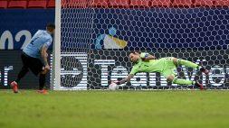 Copa America, Uruguay-Colombia 0-0 (2-4 d.c.r.): super Ospina vale la semifinale