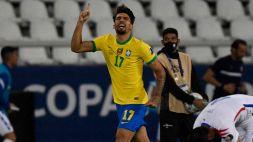 Copa America, Brasile-Cile 1-0: Paquetá porta la Seleção in semifinale