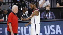 Basket, il Team USA cade anche con l'Australia