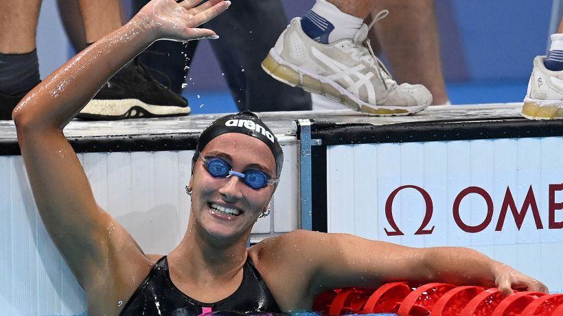 Tokyo 2020, il riscatto di Simona Quadarella: bronzo negli 800