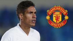 Manchester United, ufficiale il colpo Varane