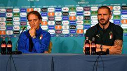 Euro 2020, Mancini e Bonucci spingono l'Italia verso Wembley