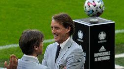 """Mancini soddisfatto: """"Manca ancora una bellissima sera da regalare agli italiani"""""""